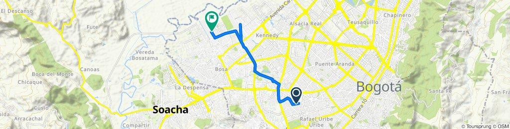 De Calle 48b Sur 31-87, Bogotá a CL 56F Sur - KR 94C, Bogotá