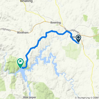 Hume And Hovell Track - Yass to Burrinjuck