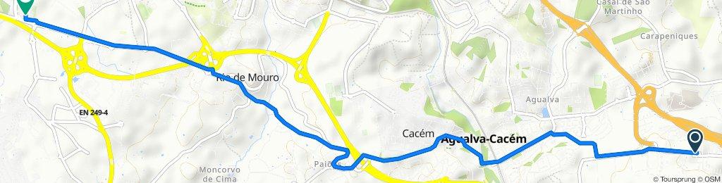 Slow ride in Sintra