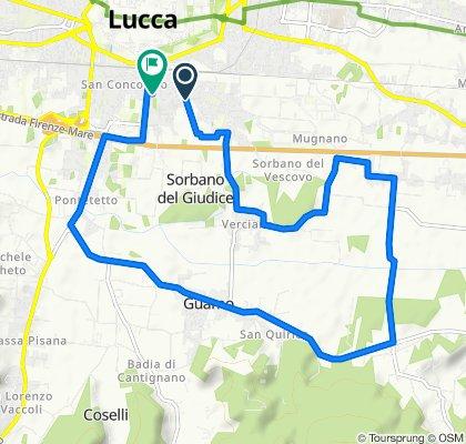Percorso moderato in Lucca