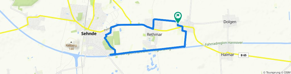Moderate Route in Sehnde