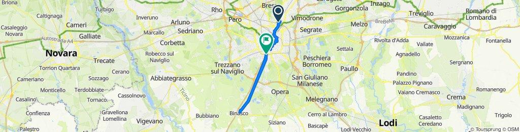 Via Comune Antico 31/4, Milano to Viale Liguria 53, Milano
