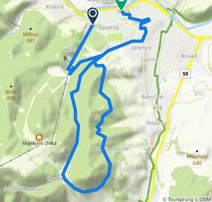 Sidorovo trail