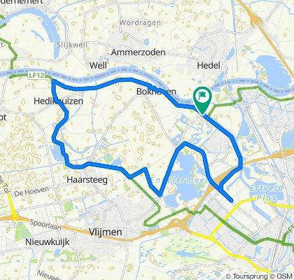 Parcivalring 297, 's-Hertogenbosch naar Parcivalring 263, 's-Hertogenbosch
