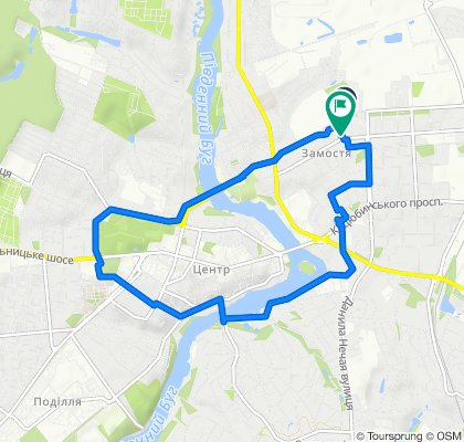 Расслабленный маршрут в Винница