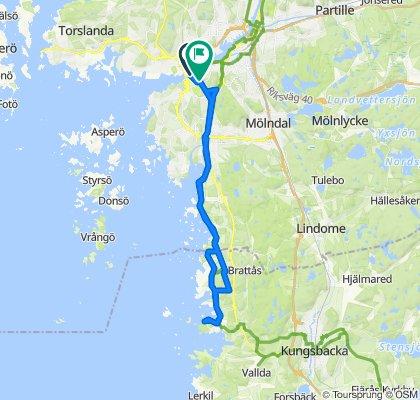 Klippan 3B, Göteborg to Slottsskogsgatan 46, Göteborg