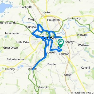 7 Edgehill Road, Carlisle to 5 Edgehill Road, Carlisle