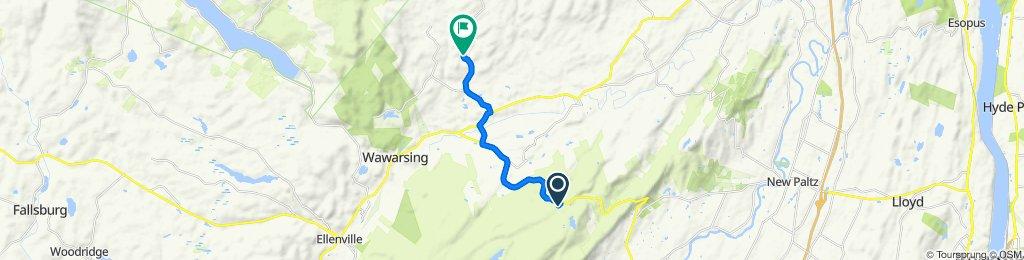 Sporty route in Woodstock
