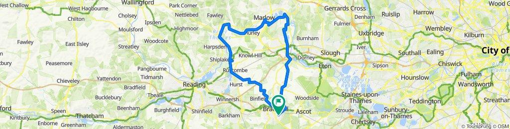 41 Harmans Water Road, Bracknell to 106 Harmans Water Road, Bracknell