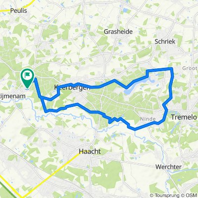 Cracking ride in Bonheyden