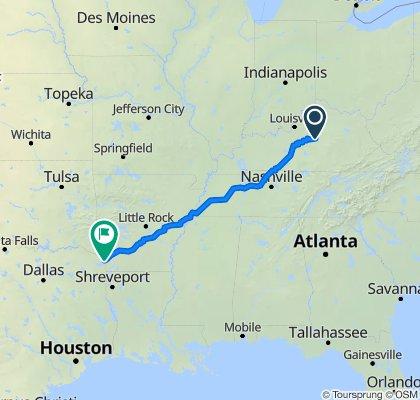 431–449 W Lexington St, Harrodsburg to 3222 W Seventh St, Texarkana