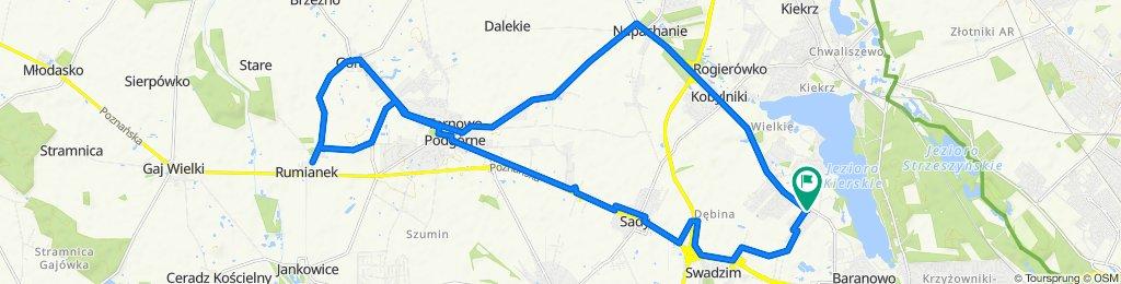 Trasa Baranowo - Rumianek 1h 20m