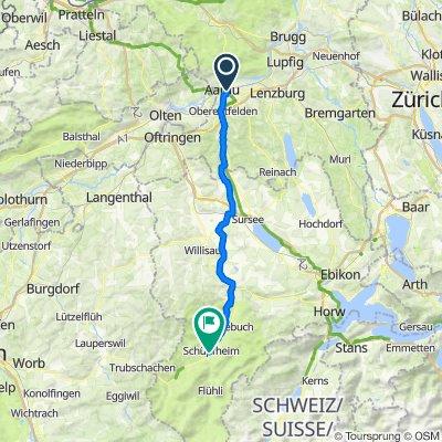 Arrau to Schupfheim