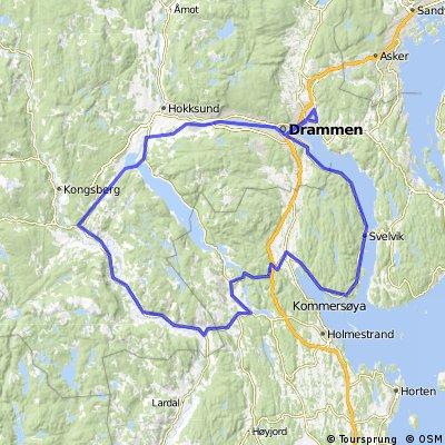 Langtur Racer ca. 150km