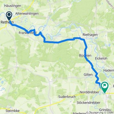 Weserradweg Route 3