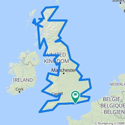 UK Coastline full