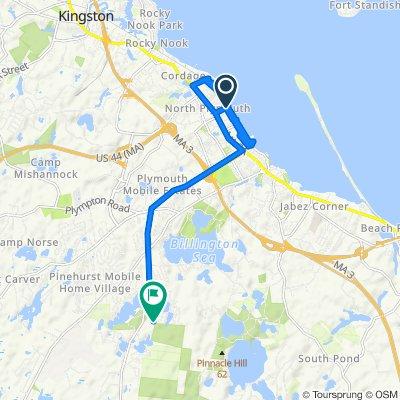 14–16 Robbins Rd, Plymouth to 17 Brady Ln, Plymouth