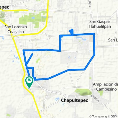 De Cuauhtémoc 412, San Mateo Mexicaltzingo a Cuauhtémoc 412, San Mateo Mexicaltzingo