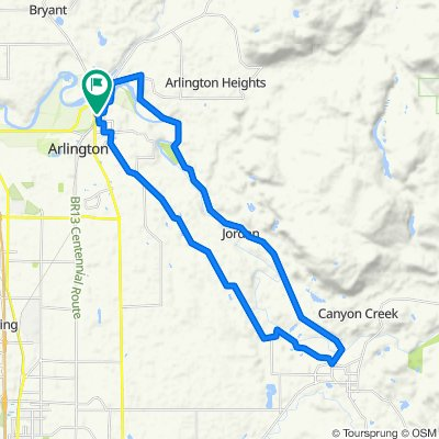 North Olympic Avenue 301, Arlington to North Olympic Avenue 328, Arlington