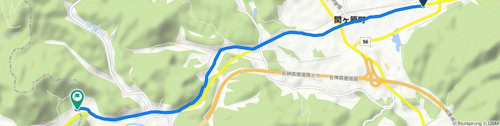 3691-1, Sekigahara, Sekigahara-Cho, Fuwa-Gun to 128-1, Chokyuji, Sekigahara-Cho, Fuwa-Gun