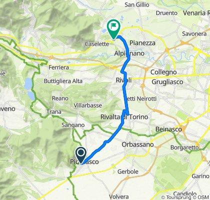 Percorso riposante in Alpignano