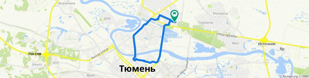 Мост Челюскинцев - Профсоюзный