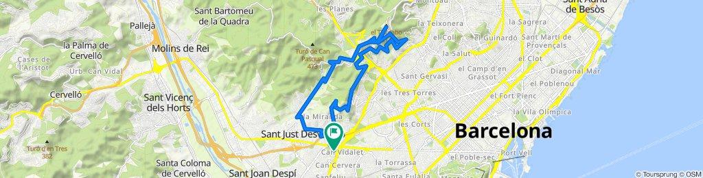 Paseo 6/5/20 Esplugues de Llobregat Tibidabo