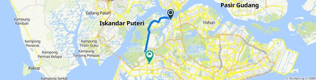 15 Kranji Way, Kranji to 663C Jurong West Street 65, Jurong