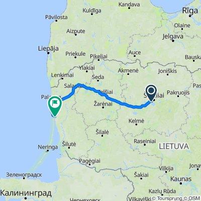 Siauliai - Palanga - Klaipeda