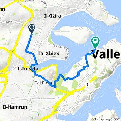 Triq Nazju Ellul 103, Il-Gżira to Great Siege Road 222, Il-Belt Valletta