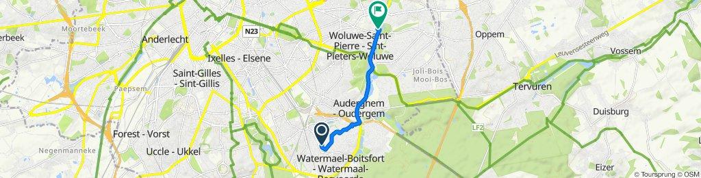 Visite rapide en Woluwe-Saint-Lambert