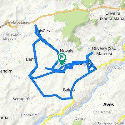 Steady ride in Novais