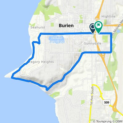 42–76 S 152nd St, Burien to 226 S 152nd St, Burien