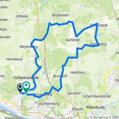 Meyenburg, Ohlenstedt, Brundorf, Löhnhorst, Beckedorf
