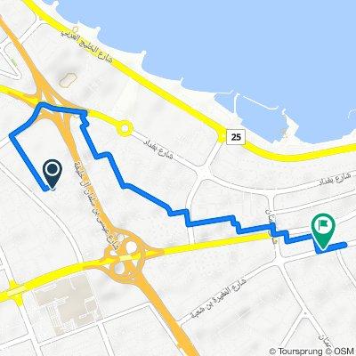 ATIS Stop 0020 Hawally Block 6 to Al Mughira Bin Shu'ba Street 70, Salmiya