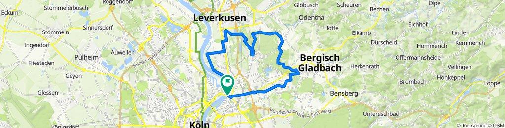 Runde von Köln-Mülheim - Von-Diergarth-See