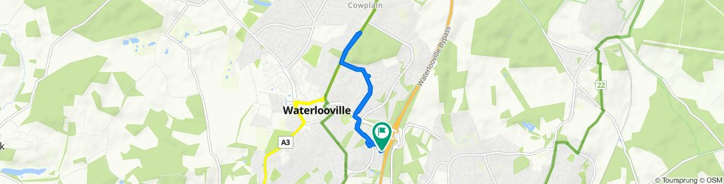 Steady ride in Waterlooville