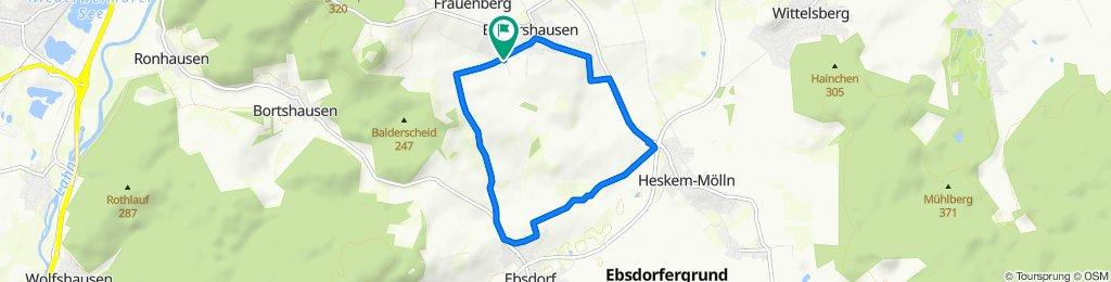 Am Balderscheid 2–10, Ebsdorfergrund to Am Balderscheid 2, Ebsdorfergrund
