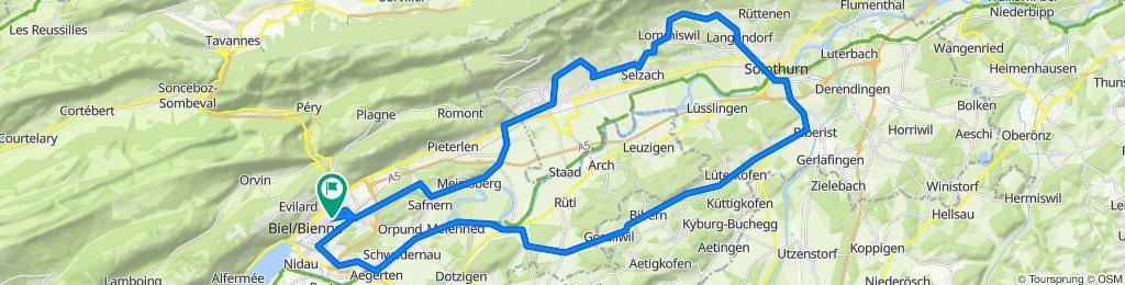 P-Biel/Solothurn/Biel (65km)