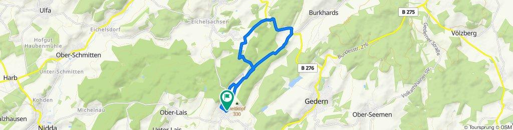 Entspannende Route in Hirzenhain