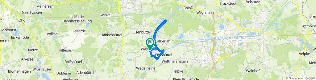 Tankumsee Calberlah Kanal Edesbüttel