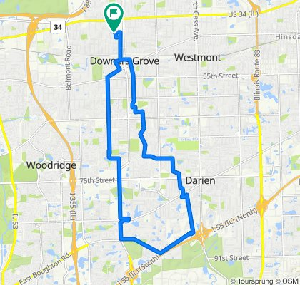 Steady ride in Downers Grove