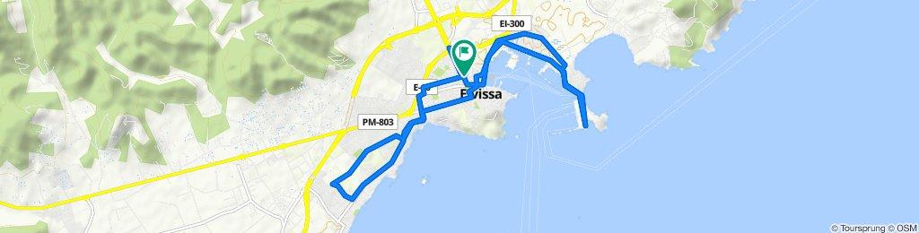 Ruta constante en Ibiza