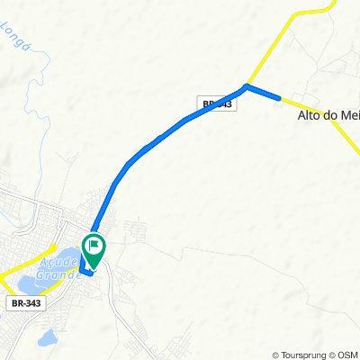Passeio rápido em Campo Maior