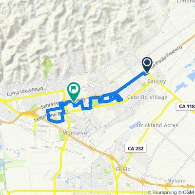10997 Henderson Rd, Ventura to 6450 Webster St, Ventura