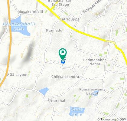 Easy ride in Bengaluru