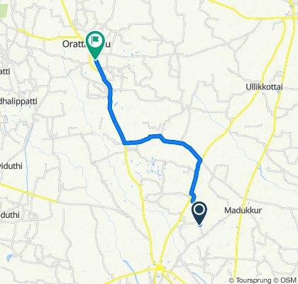 Unnamed Road, Sembalur to Pallivasal Street, Orathanadu