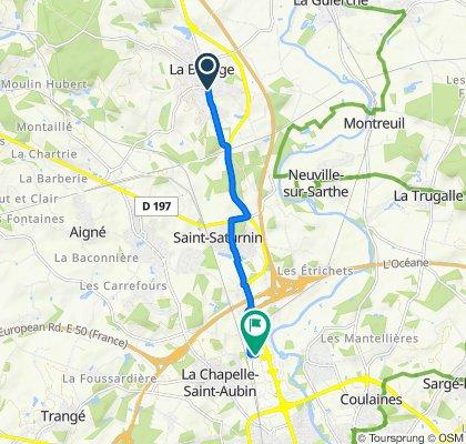 Itinéraire modéré en La Chapelle-Saint-Aubin