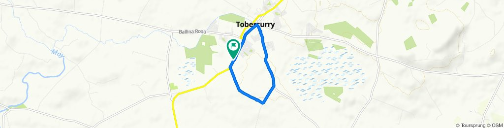 N17, Tubbercurry to N17, Tubbercurry