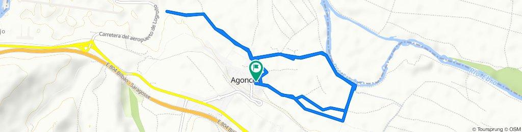 Ruta tranquila en Agoncillo